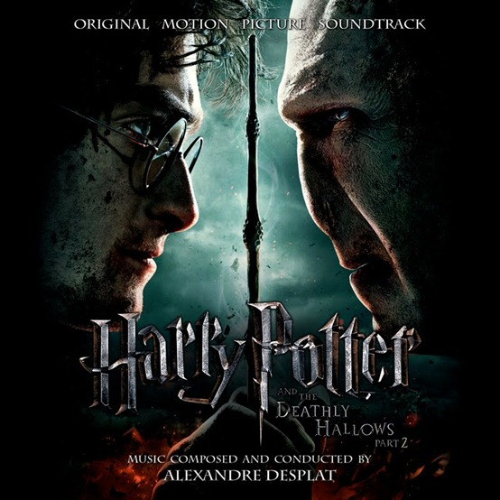 Harry Potter and the Deathly Hallows Part 2 Original Motion Picture Soundtrack (Official Album Cover)